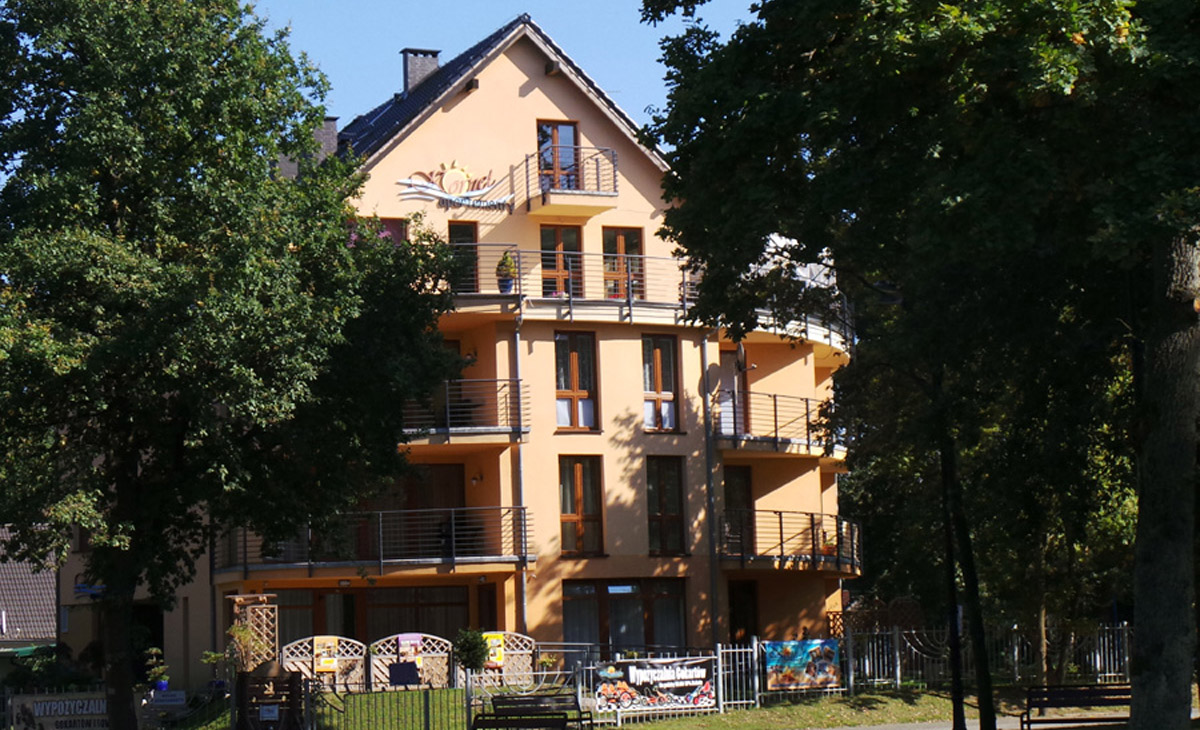 apartamenty kornel, budynek